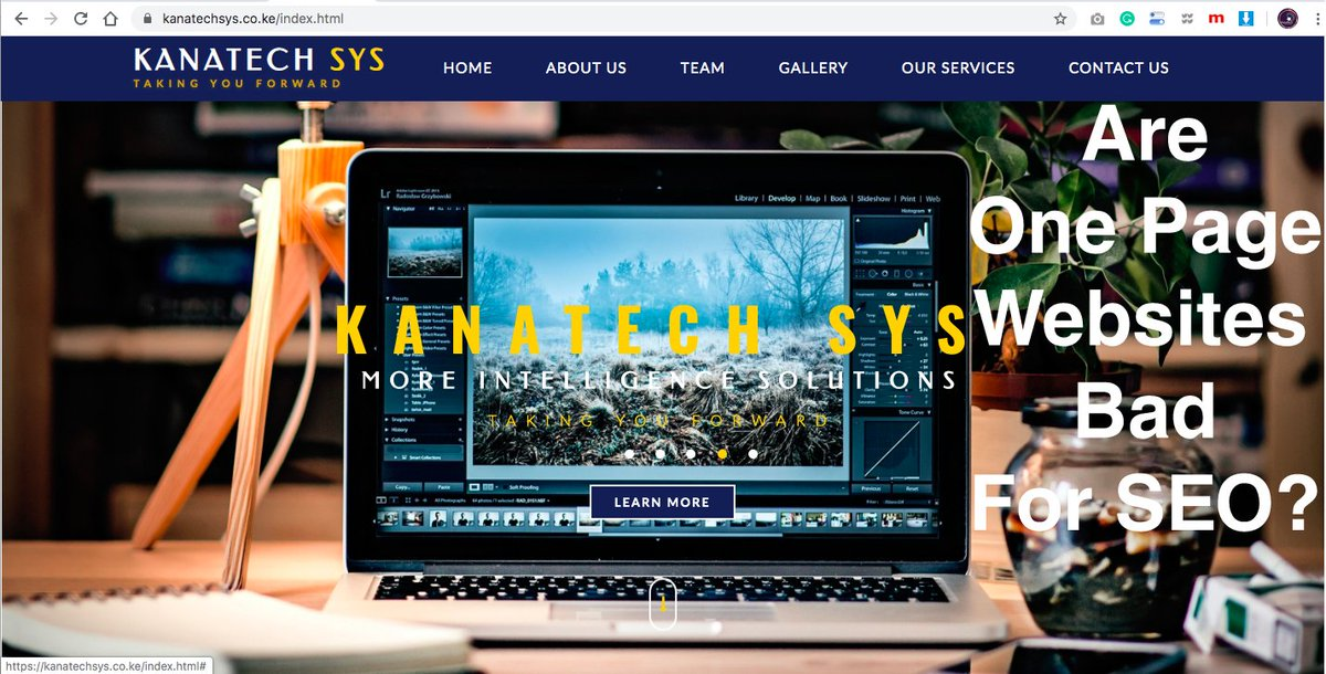 Why Single Page Websites Are Bad when it comes to SEO-Kanatech Systems