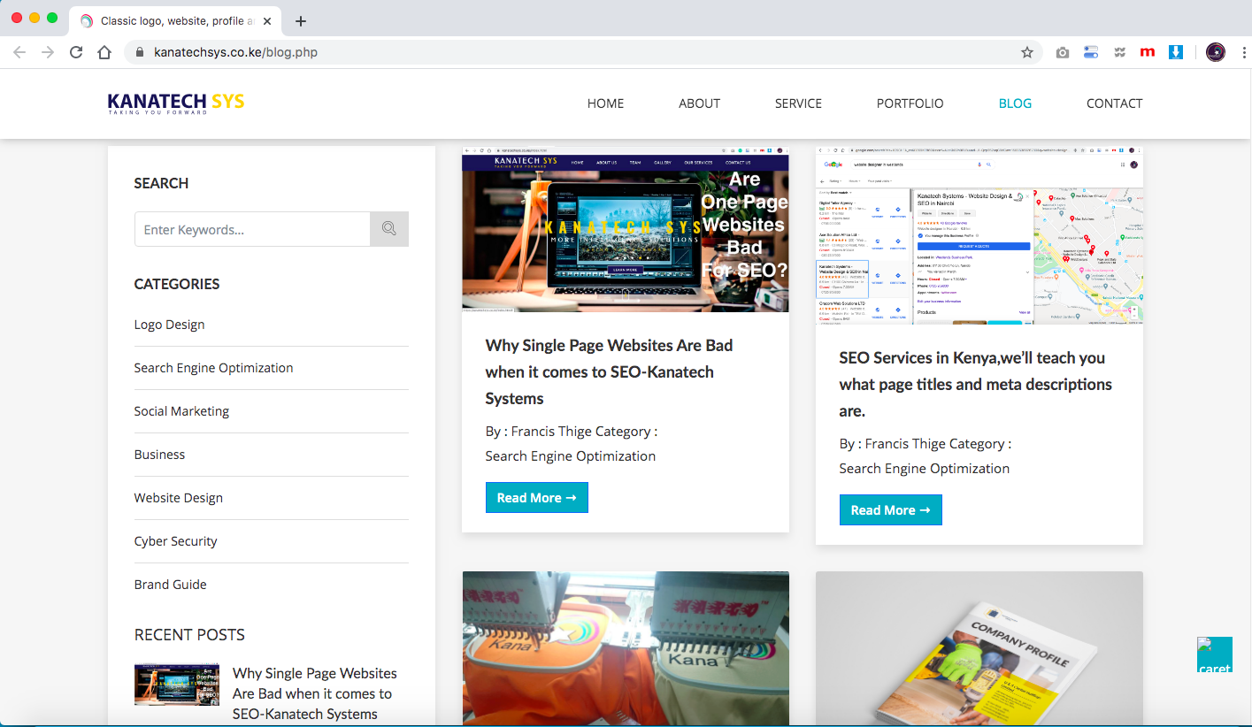 Should You go for dynamic website with a blog for your Business Website? -Kanatech Systems