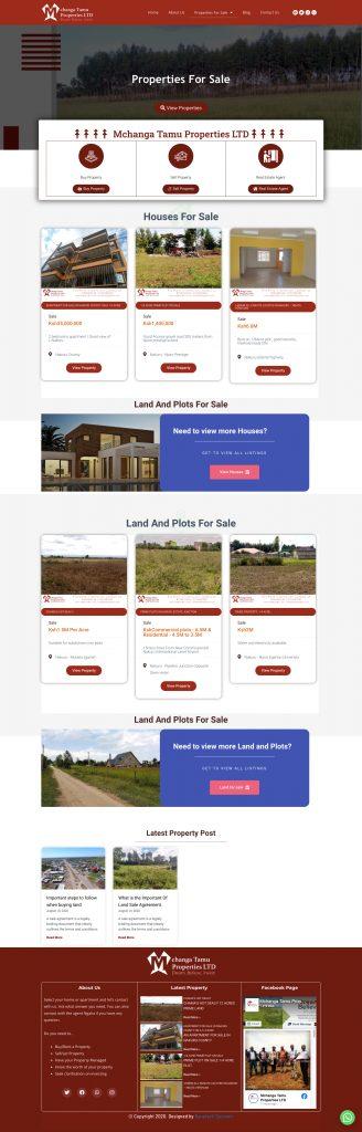 Mchanga Tamu Properties LTD