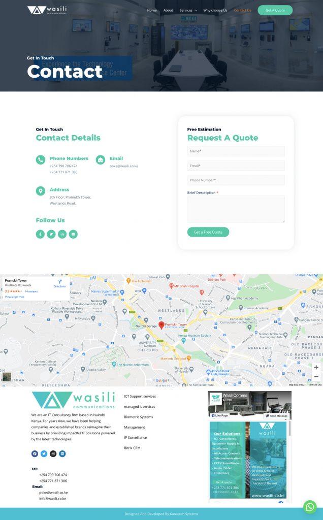 Wasili-Communications