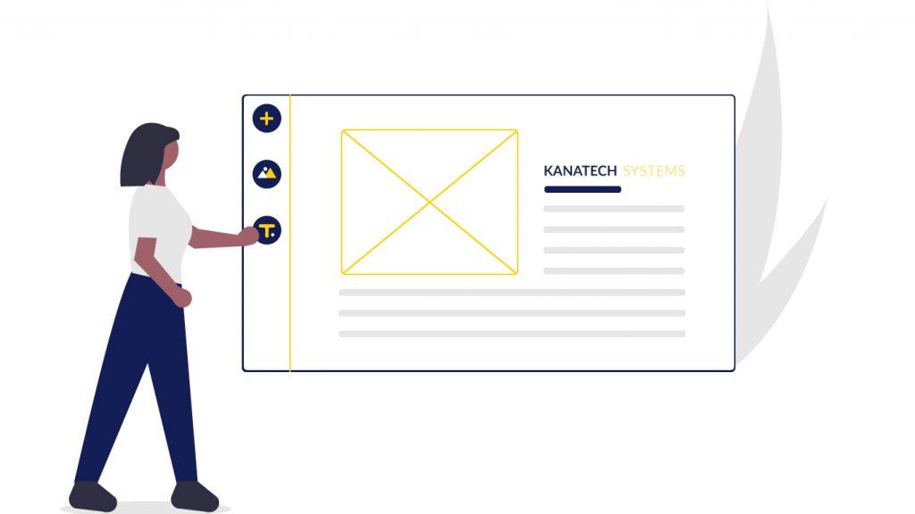 steps in designing a website in Kenya