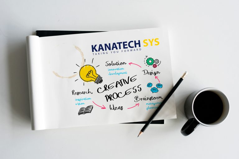 Kanatech Systems Branding creative process:  branding is gotten from the noun brand which means a unique design, sign, symbol, words, or a combination of these employed in creating an image that identifies a product and differentiates it from its competitors which in business can simply be defined as a visual representation which people correlate with a company or a product.